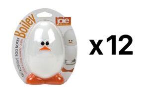 Joie MSC Boiley Plastic and Aluminum Microwave Egg Boiler (12-Pack)