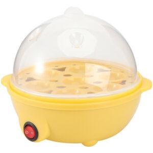 1pc Egg Steamer Multi-purpose Seven Egg Boiler for Camping Home Travel Kitchen