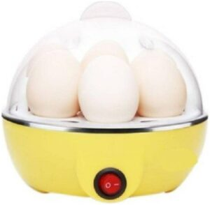 Electric Egg Boiler 7 Egg Cooker (1 pc) Assorted Colors-c19