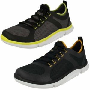 SALE MENS CLARKS TRIKEN ACTIVE LACE UP CASUAL TRAINERS WALKING SPORTS SHOES SIZE