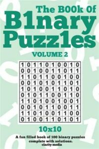 Book of Binary Puzzles, Paperback by Clarity Media (COR), Like New Used, Free…