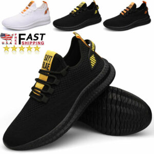 Men's Athletic Running Casual Shoes Walking Outdoor Jogging Gym Tennis Sneakers