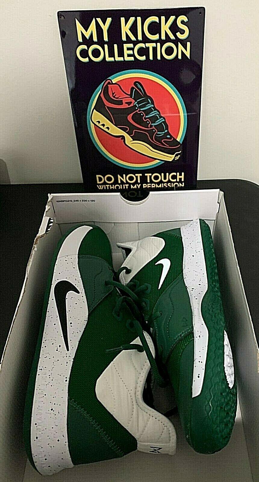 CLEARANCE SALE Nike Paul George PG 3 TB Promo Men Basketball Shoes Green/White