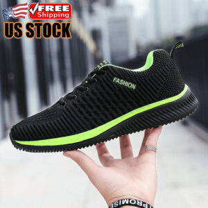 Men's Outdoor Sneakers Atheltic Lightweight Sports Running Shoes Tennis Jogging
