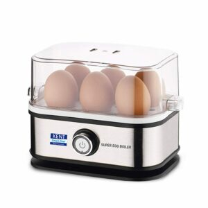 Kent Super Egg Boiler 400 Watt 220V Boil 6 Eggs in Just 3 Minutes