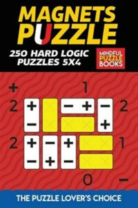 Binary Puzzle: 250 Hard Logic Puzzles 8×8, Like New Used, Free shipping in th…