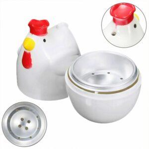 Chicken Shape Microwave 1 Egg Boiler Steamer Poacher Boiler Cooker Kitchen Tool