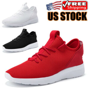 Men's Casual Running Athletic Sneakers Comfort Lightweight Sports Walking Shoes
