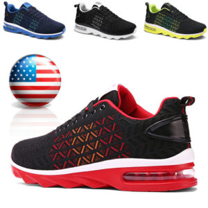 Men's Sneakers Air Cushion Casual Sports Running Tennis Shoes Outdoor Jogging