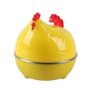 Household Mini Cute Hen Shape Electric Egg Cooker Eggs Boiler Steamer EU SI