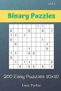 Binary Puzzles – 200 Easy Puzzles 10X10 Vol 1