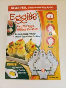 Eggies Kitchen Gadget Egg Boiler Cooker -FREE Shipping – Easy Hard Boiled & FAST