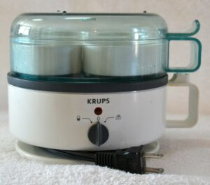 Krups Egg Express F230 Cooker Boiler Poacher TESTED and CLEAN Complete with Cups