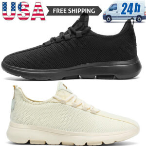 Men's Casual Sports Running Shoes Jogging Sneakers Tennis Comfort Athletic Gym