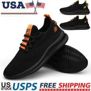 Men's Breathable Sports Running Shoes Casual Sneakers Jogging Tennis Athletic