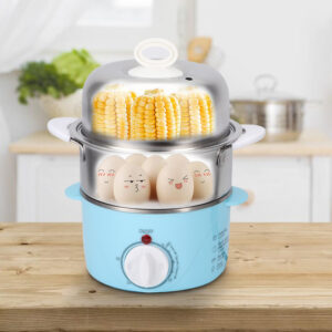 Household Double Layer Electric Egg Boiler Cooker Cooking For Home