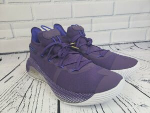 Under Armour CURRY 6 Team Violet (Purple) Shoes – Mens Size 11.5 (3022893-500)