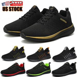 Men's Gym Athletic Shoes Outdoor Running Casual Jogging Sports Tennis Sneakers