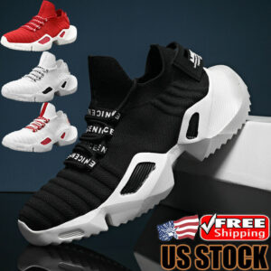 Fashion Men's Athletic Sneakers Breathable Sports Running Tennis Shoes Jogging