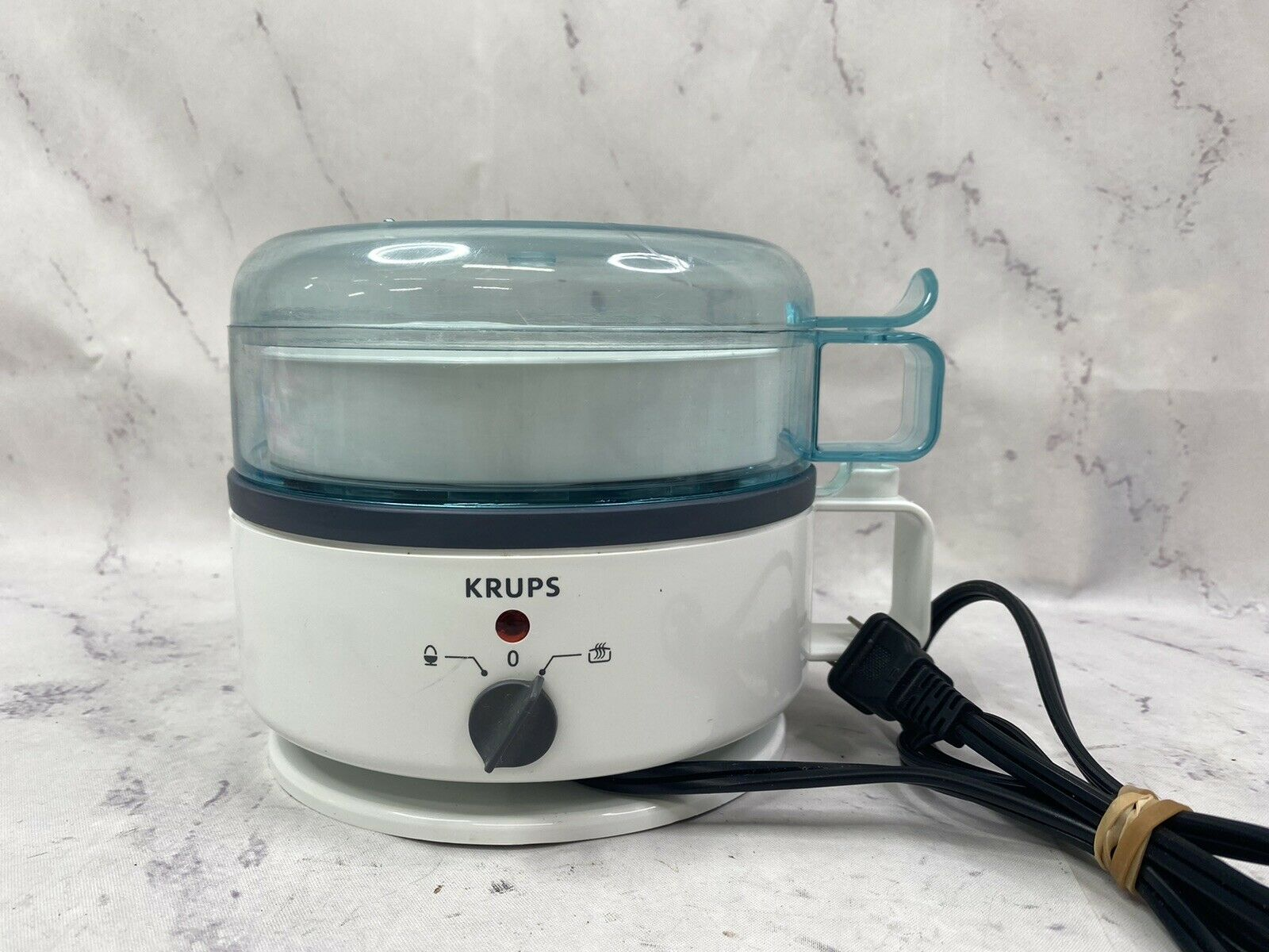 Krups Egg Express F230 Cooker Boiler Poacher 7 Eggs Hard Soft Boil