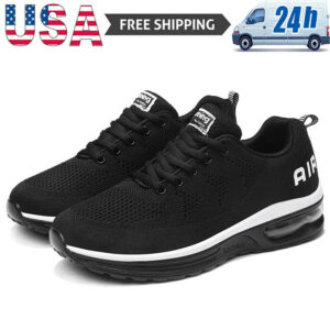 Athletic Men's Air Cushion Running Sneakers Sports Jogging Tennis Shoes Casual