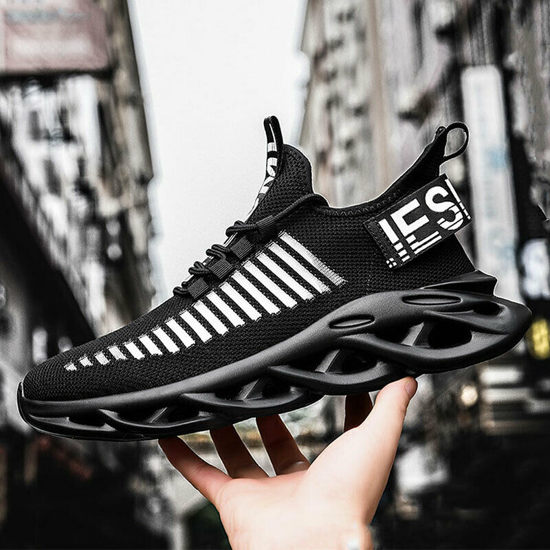 Men's Athletic Sneakers Running Sports Fashion Casual Walking Tennis Gym Shoes
