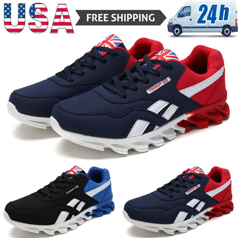 Men's Fashion Athletic Shoes Sports Running Jogging Snekaers Outdoor Tennis Gym