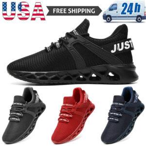 Running Shoes Men's Fashion Athletic Jogging Sneakers Sports Tennis Walking Gym