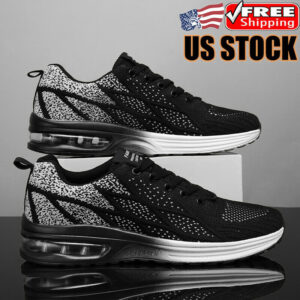 Athletic Men's Air Cushion Shoes Outdoor Running Jogging Sneakers Sports Tennis