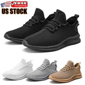 Men's Sports Running Sneakers Casual Walking Gym Training Tennis Athletic Shoes