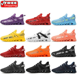 Men's Running Shoes Outdoor Casual Athletic Fashion Tennis Walking Sneakers Gym