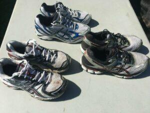 48 HOUR SALE!! Asics Gel Cumulus 22 Nimbus 11 GT 2150   Shoes size 8 lot of 3