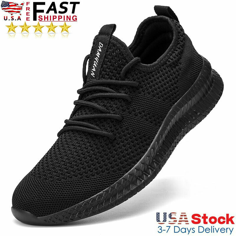 Men's Athletic Running Shoes Jogging Casual Sports Tennis Breathable Sneakers US