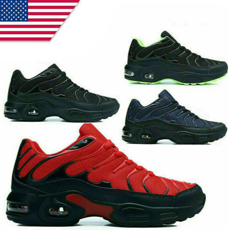 Men's Air Cushion Sneakers Fashion Casual Athletic Outdoor Sports Running Shoes