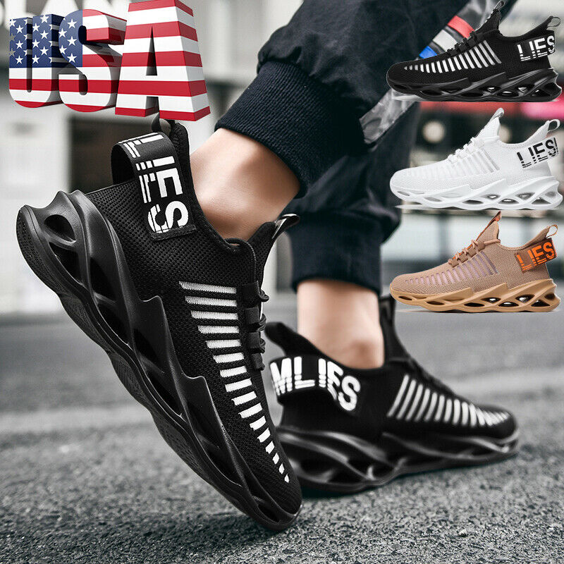 Men's Outdoor Sports Running Shoes Casual Sneakers Athletic Jogging Tennis Gym