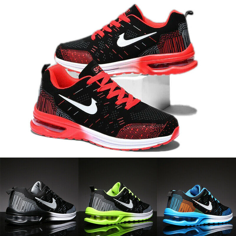 Men's Sports Shoes Air Cushion Sneakers Athletic Running Jogging Tennis Gym New