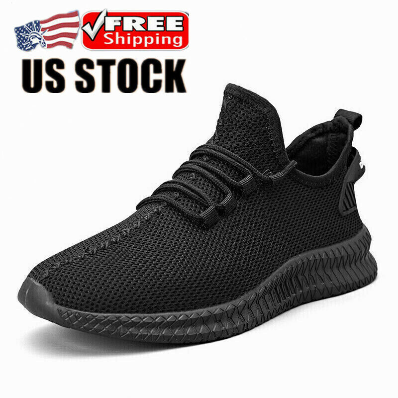 Men's Running Shoes Athletic Shoes for Men Casual Slip Fashion Sports Outdoor