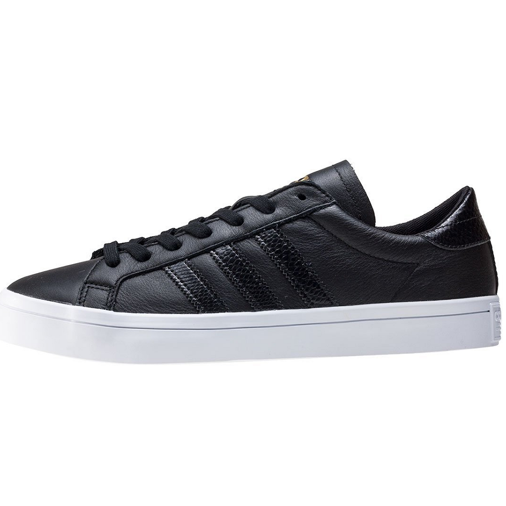 adidas Court Vantage Retro Vintage Classic Sneaker Sport Shoes black BB0148 SALE