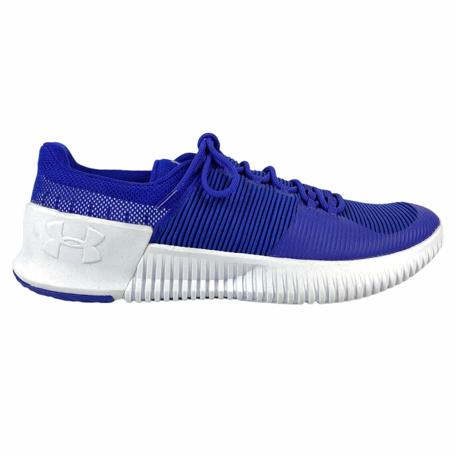Under Armour Ultimate Speed Training Sneaker Shoe Blue 3000329-500 Men Sz 12.5 M