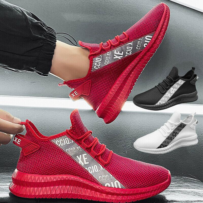 Men's Air Non-slip Cushion Running Walking Soccer Sports Shoes Sneakers Casual