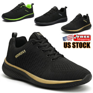 Men's Shoes Sports Running Casual Outdoor Jogging Athletic Tennis Sneakers Gym