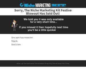 The Niche Marketing Kit – Massive Blowout! — Niche Marketing Kit